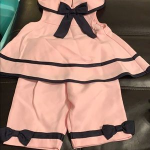 Cute Sailor 2piece set with matching hat